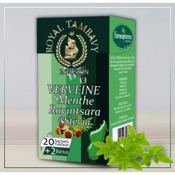 6- INFUSION VERVEINE, MENTHE+ STEVIA  Bte / 20infusettes {attributes}