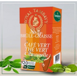 9- INFUSION BRULE-GRAISSE CAFE VERT/THE VERT  Bte / 20infusettes {attributes}