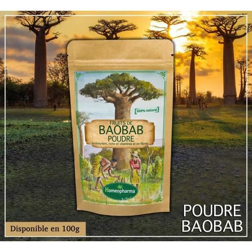 Poudre de Fruit de baobab 100gr {attributes}