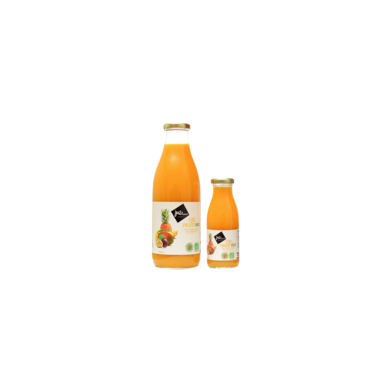 JUS D'ANANAS MANGUE PASSION BIO 1 l {attributes}