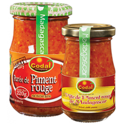 Pate de piment rouge CODAL 220 g {attributes}