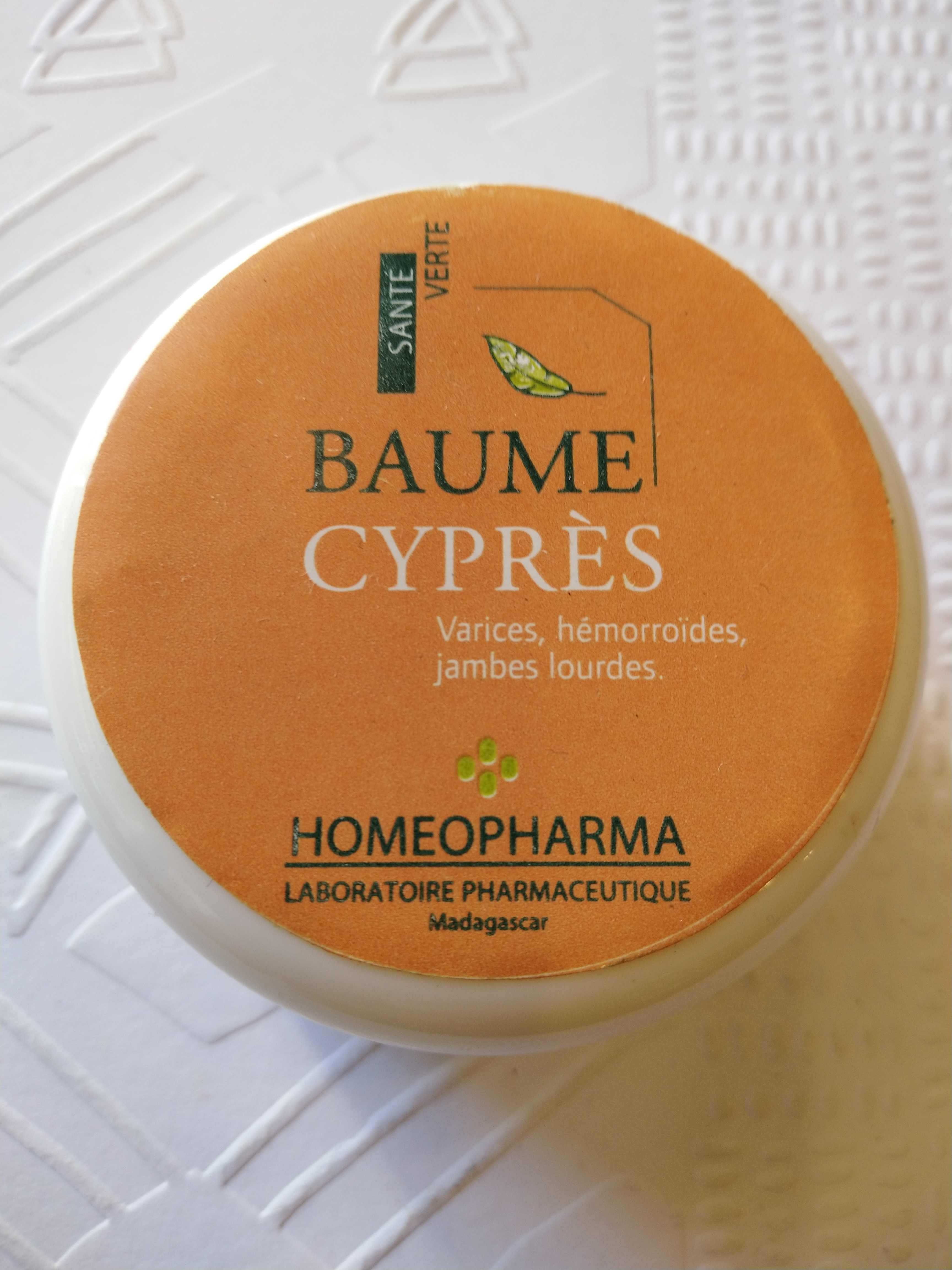 BAUME CYPRES Pot 20 grs {attributes}