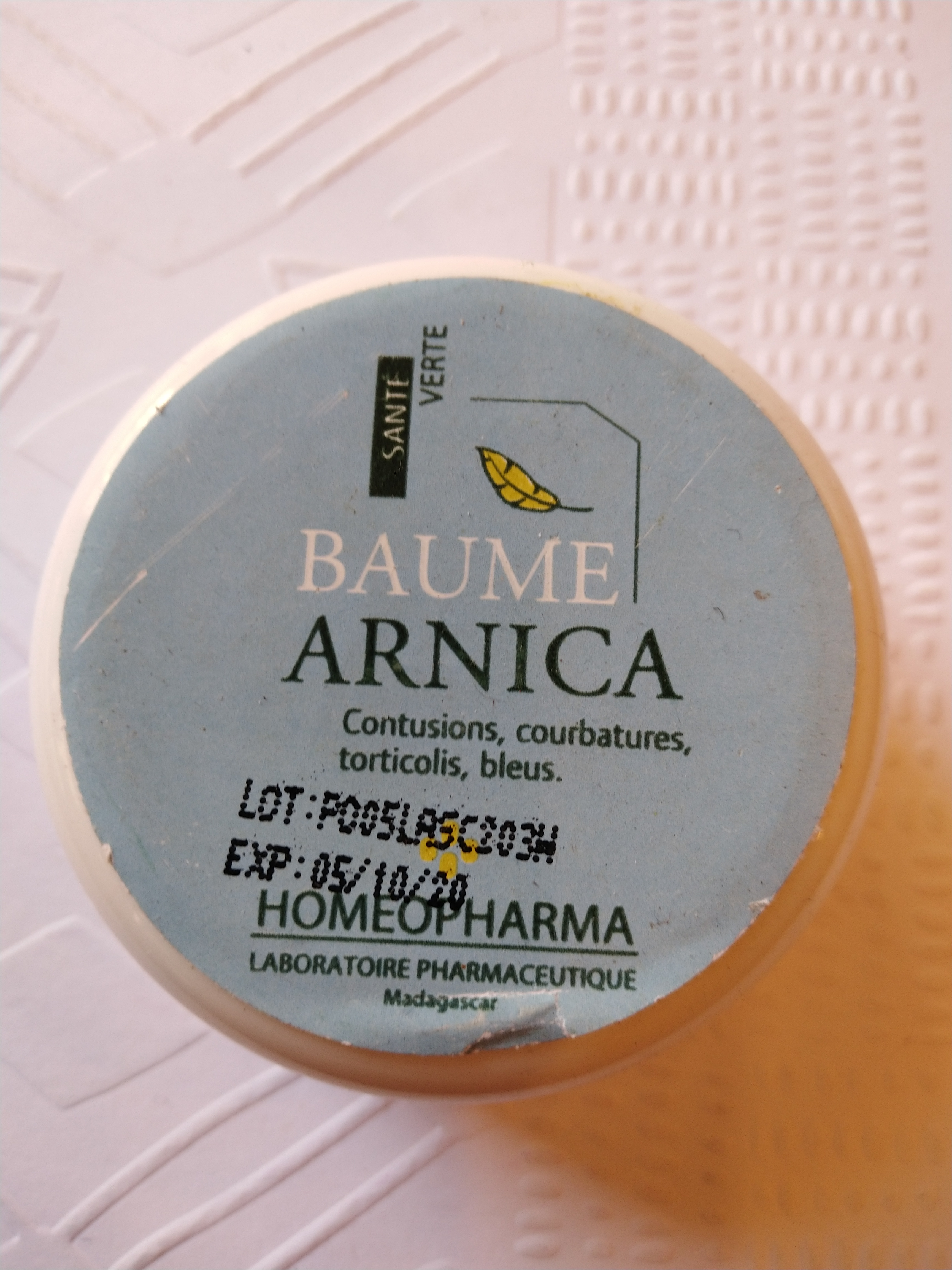 BAUME ARNICA Pot 25 grs {attributes}
