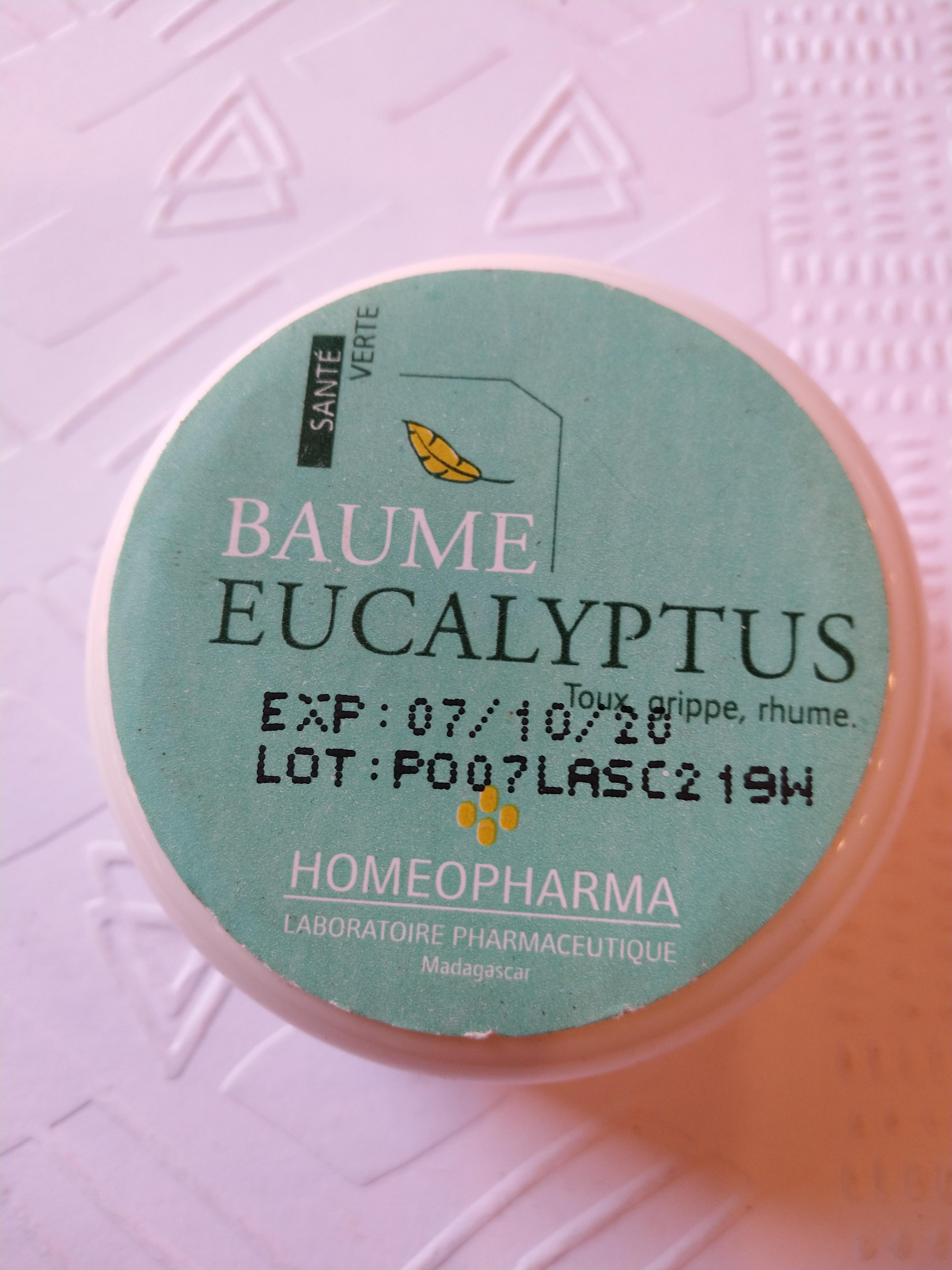 BAUME EUCALYPTUS Pot 20 grs {attributes}